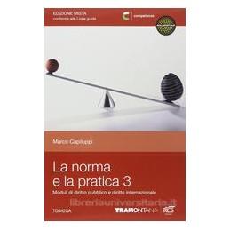 NORMA E LA PRATICA 3 SET (LA)   EDIZIONE