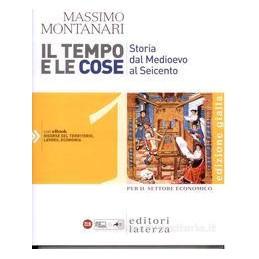 TEMPO E LE COSE 1 (ED.GIALLA) SET.ECON.