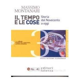 TEMPO E LE COSE 3 (ED.GIALLA) SET.ECON.