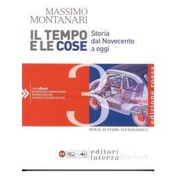 TEMPO E LE COSE 3 (ED.ROSSA) SET.TECNOL.