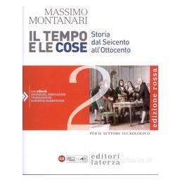TEMPO E LE COSE 2 (ED.ROSSA) SET.TECNOL.
