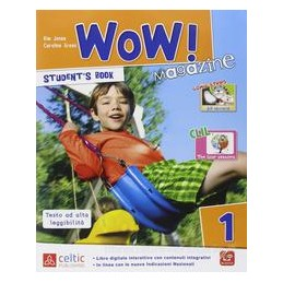 WOW! MAGAZINE 1 +WORKBOOK +DVD