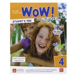 WOW! MAGAZINE 4 +WORKBOOK +DVD