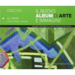 NUOVO ALBUM DI ARTE E IMMAGINE ABC +EBOO