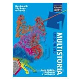 MULTISTORIA EDIZIONE BLU 1 +EBOOK