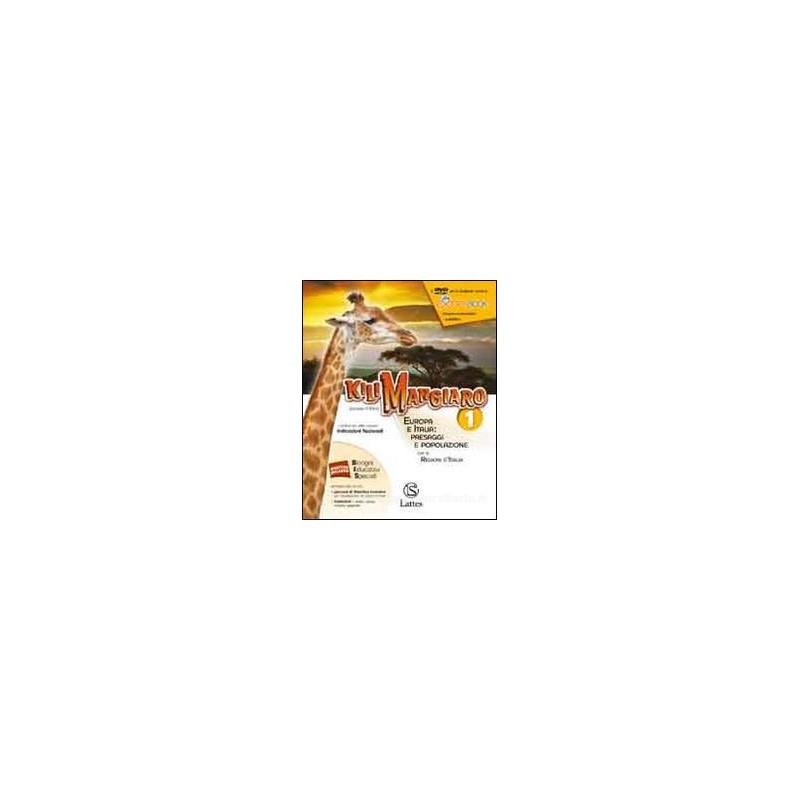 KILIMANGIARO VOL. 1 CON DVD E ATLANTE 1+