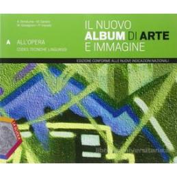 NUOVO ALBUM DI ARTE E IMMAGINE ABC +DVD