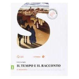 TEMPO E IL RACCONTO 1  MEDIOEVO +DVD