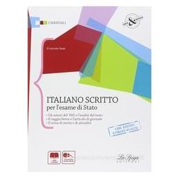 ITALIANO SCRITTO PER L`ESAME DI STATO