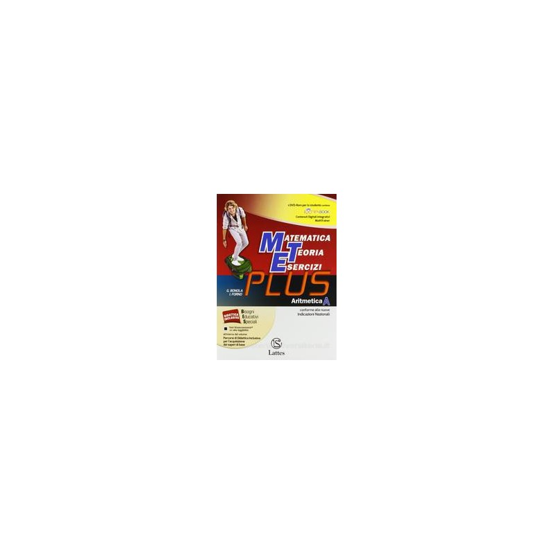 MET PLUS  ARITMETICA A +MI PR.+COMP.+DVD