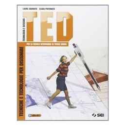TED TECNOLOGIA E DISEGNO VOL.UN. +DVD