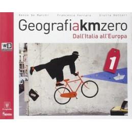 GEOGRAFIA A KM ZERO 1 +ATLANTE 1 +DVD