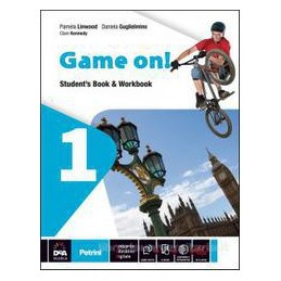 GAME ON! 1 STUDENT`S BOOK & WORKBOOK +EB