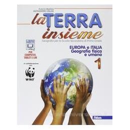 TERRA INSIEME 1 EUROPA ITALIA +GEOLAB.