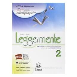 LEGGERMENTE 2 +LETTER. +COMPETENZE +DVD