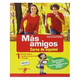 MAS AMIGOS 1 +CD +LOS RECURSOS