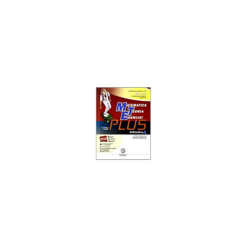 MET PLUS  ARITMETICA A +MI PREPARO +DVD