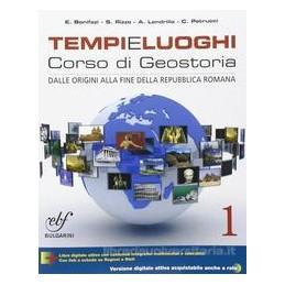 TEMPI E LUOGHI 1 CORSO DI GEOSTORIA