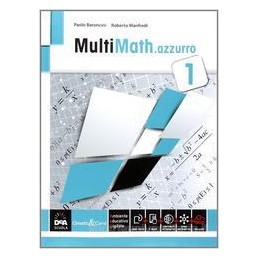 MULTIMATH AZZURRO VOLUME 1 + EBOOK
