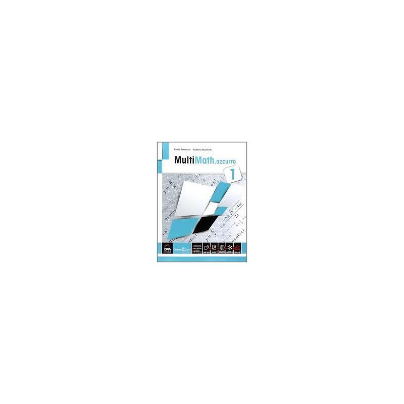 MULTIMATH AZZURRO VOLUME 1 + EBOOK