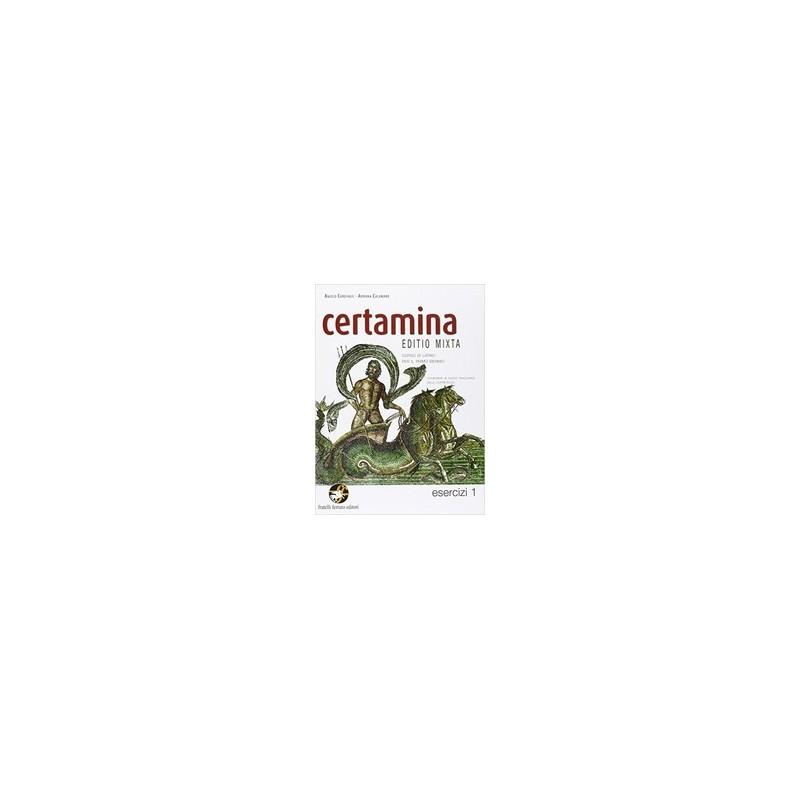 CERTAMINA EDITIO MIXTA  ESERCIZI 1 +DVD
