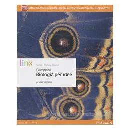 BIOLOGIA PER IDEE X BN +ITE +DIDASTORE