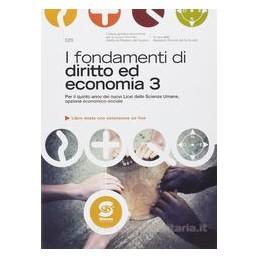 FONDAMENTI DI DIRITTO ED ECON.3 X 5 LSU