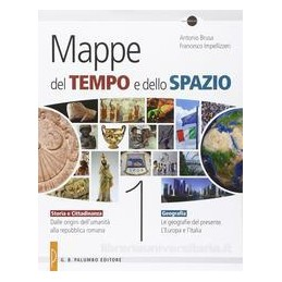 MAPPE DEL TEMPO E DELLO SPAZIO 1 +DVD