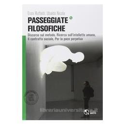 PASSEGGIATE FILOSOFICHE  DISCORSO METODO