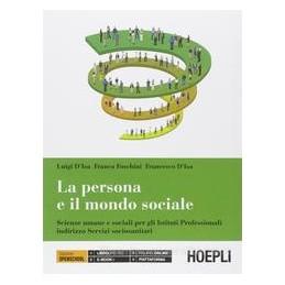 PERSONA E IL MONDO SOCIALE X BN IPSS