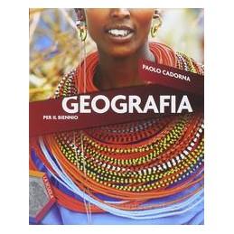 GEOGRAFIA PER IL BIENNIO +EBOOK