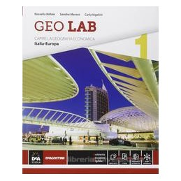 GEO LAB 1  ITALIA EUROPA +EBOOK
