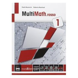 MULTIMATH.ROSSO 1 X BN IT ECON. +EBOOK