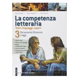 COMPETENZA LETTERARIA 3