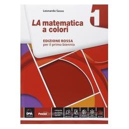 MATEMATICA A COLORI ED.ROSSA 1 XBN IT EC