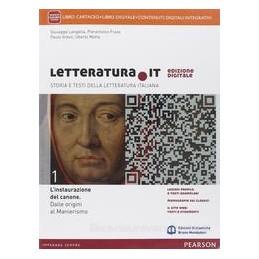 LETTERATURA.IT 1 +TESTI E SCRITTURA +ITE