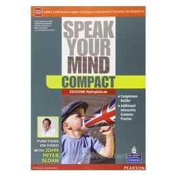 SPEAK YOUR MIND COMPACT +MYLAB +ITE+DIDA