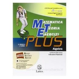 MET PLUS  ALGEBRA +MI PREPARO +COMP.+DVD