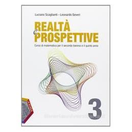 REALTÀ E PROSPETTIVE 3 +EBOOK