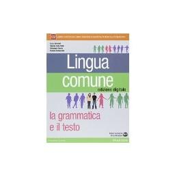 LINGUA COMUNE +LIBRO SCRITT.+INVALSI+ITE