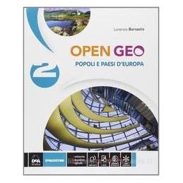 OPEN GEO 2  POPOLI E PAESI D`EUROPA +EB.
