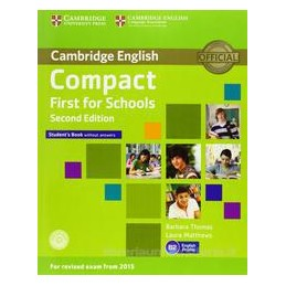 COMPACT FIRST FOR SCHOOLS 2ND ED.
