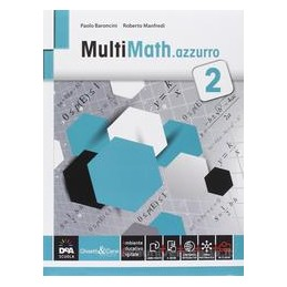 MULTIMATH AZZURRO VOLUME 2 + EBOOK