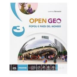 OPEN GEO 3  POPOLI E PAESI DEL MONDO +EB