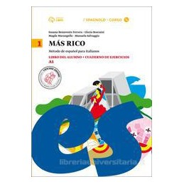 MáS RICO 1 LIBRO DEL ALUMNO + CUADERNO DE EJERCICIOS + CD MP3