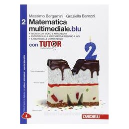 MATEMATICA MULTIMEDIALE BLU VOL 2 CON TUTOR MULTIMEDIALE LDM