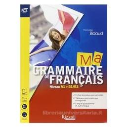 MA GRAMMAIRE DE FRANCAIS SET MAIOR+2 CD