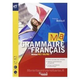 MA GRAMMAIRE DE FRANCAIS SET MAIOR+2CD+SOLUZIONI