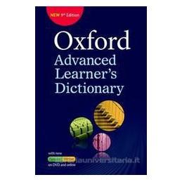 OXF ADV LEARN DICT 9TH+DVD+PREMIUM SITE CODE