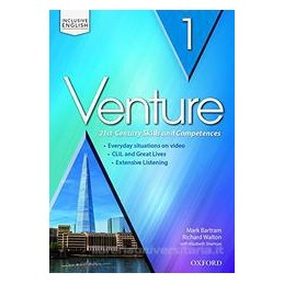 VENTURE 1: ST&SB&WB+AUDIO CD